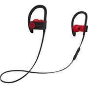 Beats – Écouteurs sans fil Powerbeats 3 Wireless, collection Décennie, rouge/noir (MRQ92LL/A)