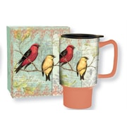 Lang 10992127026 Song Book 18 Oz Ceramic Full-Color Artwrapped Exterior Travel Mug with Lid