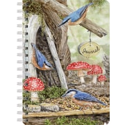 Lang 1350028 Fairy Garden Spiral Bound Hard Cover 240 Page Journal