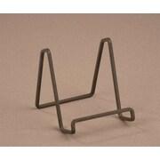 Tripar International TR50203 Metal Square Wire Stand. Mahogany