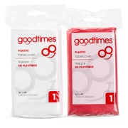 Goodtimes Plastic Tablecovers, 12/Pack