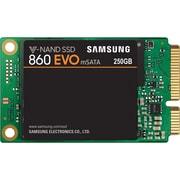 Samsung MZ-M6E250BW 860 EVO mSATA SATA III 250 GB Internal SSD