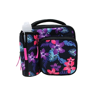 Assorted Insulated Lunch Bags with Water Bottle