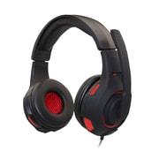 Casque d'écoute de jeu Havit H2213D, 3,5 mm + USB avec microphone, DEL, noir