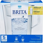 Brita – Système de filtration en pichet, modèle Slim