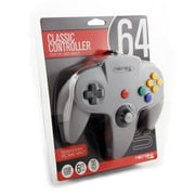 Retro-Bit Nintendo 64 Style USB Controller, Grey