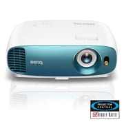 BenQ 3000 Lumen Home Entertainment Projector for Sports Fans with 4K HDR, White/Blue (TK800)