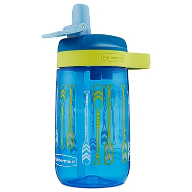 Rubbermaid 14oz Leak Proof Kids Sip Cup, Assorted: Flowers, Paddles