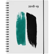 W. Maxwell – Agenda scolaire quotidien 2018/2019, Garbo, abstrait (134303)