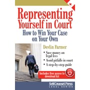 Self-Counsel Press – Representing Yourself in Court, anglais