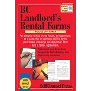 Self-Counsel Press BC Landlord's Rental Forms