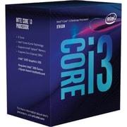 Intel Core i3 i3-8100 Quad-core (4 Core) 3.60 GHz Processor, Socket H4 LGA-1151, Retail Pack