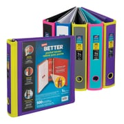 "Staples® Better Binder, Pocket Binder, 1.5"", Assorted"