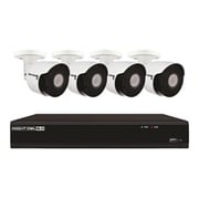 Night Owl IH802-84BA-B Wired 8 Channel Network Video Recorder with 4 IP Camera