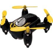 Riviera RC™ Micro Quadcopter Wi-Fi Drone with 3D App, Black (RIV-FX21BLK)