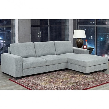 Brex Grey Sectional Sofa