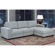 Brassex Grey Sectional Sofa,