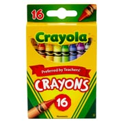 Crayola Regular Size Crayons 16pk, Assorted. Sold as a set of 12, each box has 16 crayons for a total of 192. (BIN16)