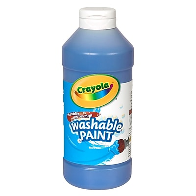 Crayola® 16 oz. Washable Paints; Blue
