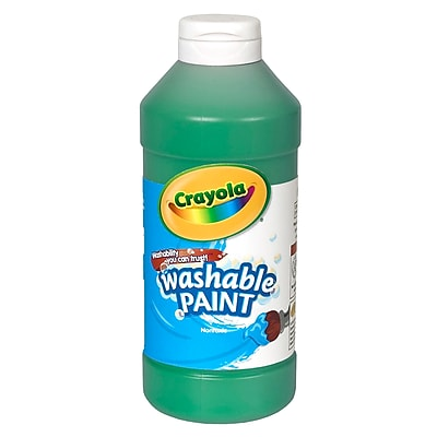 Crayola® 16 oz. Washable Paints; Green