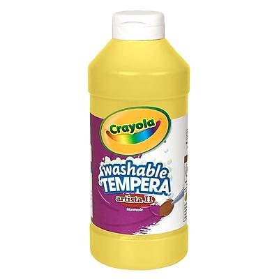 Crayola® Artista ll® Liquid Tempera Paints; Yellow