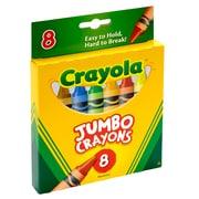 Crayola® 8 Piece Jumbo Crayons Peggable Tuck Box (BIN389)