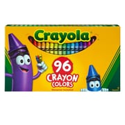 Crayola 96CT Crayons Hinged Top Box, assorted. Sold as a set of 3, each box has 96 crayons for a total of 288 (BIN520096)
