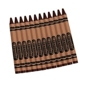 Crayola  Bulk Crayons, Brown, 12/Box (52-0836-007)