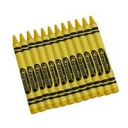 Crayola  Bulk Crayons, Yellow, 12/Box (52-0836-034)