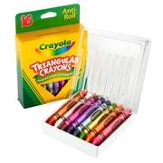 Binney & Smith Crayola® Triangle Crayons, 16/Bx