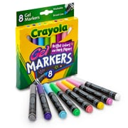 Crayola 8ct Gel FX Washable Markers, Assorted Colors. Sold as a set of 4, each pack has 8 markers for a total of 32 (BIN588163)
