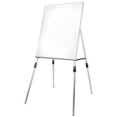 Flipside Dry Erase Easel with Adjustable Legs, 46