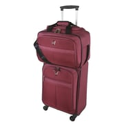 Atlantic Essential 2-Piece Set with Travel Tote & Carry-On Spinner