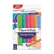 Paper Mate Handwriting Triangle Pen, 5/Pack