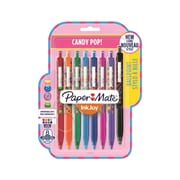Paper Mate InkJoy 300RT Ballpoint Pens, Medium 1 mm Tip, Candy Pop, 8/Pack