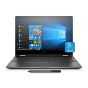 HP – Portatif Spectre PQ43UA#ABL écran tactile de 15,6 po, Core i7-8550U 1,8 GHz, SSD360 Go, SDRAM DDR4-2400 12Go, Win10Famille