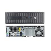 HP - PC de table ProDesk 600 G1 SFF remis à neuf, 3,4 GHz Intel Core i3-4130, DD 500 Go, 4 Go DDR3, Windows 10 Pro