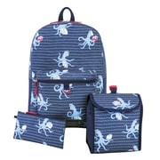 Boys 3-Piece Backpacks, Assorted Prints