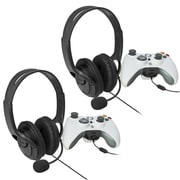 Insten 2 Piece Game Headset Bundle For Xbox 360 (480692)