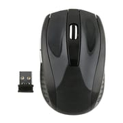 Insten Black 2.4GHz Cordless Wireless Optical Computer Mouse with 800 1200 1600 DPI