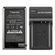 Insten Compact Battery Charger Set For Canon LP-E10 Battery, Black (BCANLPE10CS1)