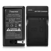 Insten Compact Battery Charger Set For Canon LP-E8 (BCANLPE8CS01)