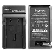 Insten Compact Battery Charger Set For Canon NB-2L/BP-2L12 Batteries (BCANNB2LCS04)
