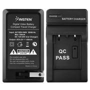 Insten Compact Battery Charger Set For Olympus Li-40B/Nikon EN-EL10/Fuji NP-45 (BOLYLI40BCS3)