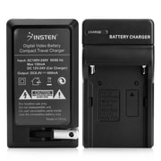 Insten Compact Battery Charger Set For Sony NP-FM500H (BSONFM500CS1)