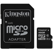 Kingston Canvas Select 16 GB microSDHC Flash Card Model (SDCS/16GBCR)