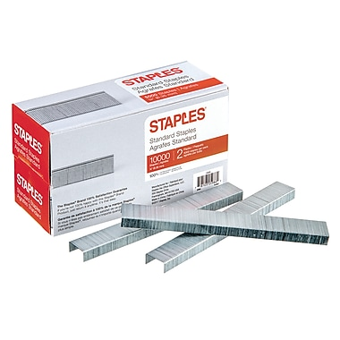 StaplesMD – Agrafes standards, paq./10 000
