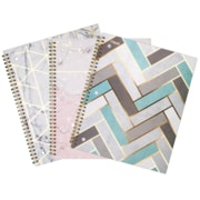 "Mead Modern Chic Notebook, 80 Sheets, 8"" x 10-1/2"", Assorted (07981)"