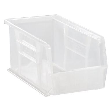 Clear-view Stack & Hang Bins, 30 Lbs. Capacity, CF739, 12/Pack
