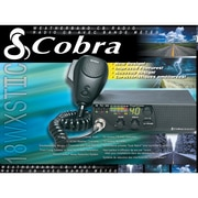 Cedar Electronics Corporation 18WXSTIIC Cobra Compact CB Radio with Weather and Soundtracker
